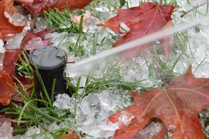 Winterizing your irrigation can save you  hundreds.