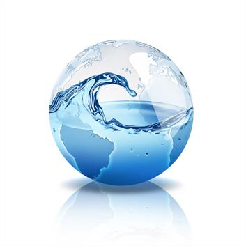 Water in a Sphere