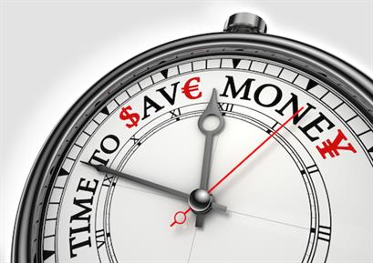 Time to Save Money Clock