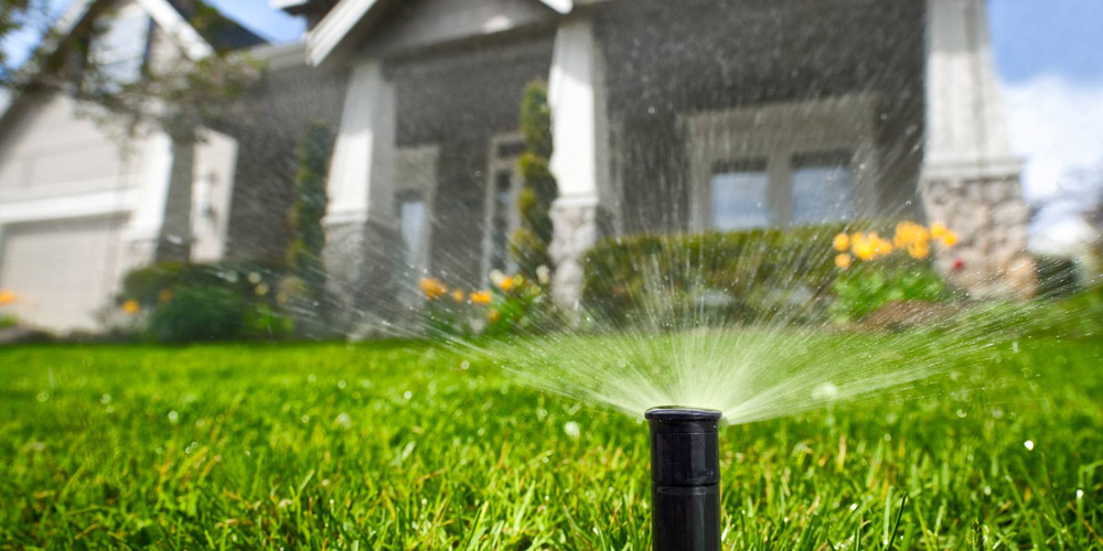 Irrigation repair and sprinkler head maintenance