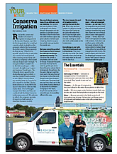 Founder, Russ Jundt, featured in Turf Magazine