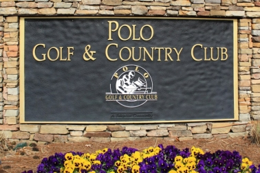 Polo Golf & Country Club Sign