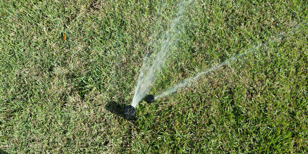 sprinkler head coverage in North Fort Myers Florida